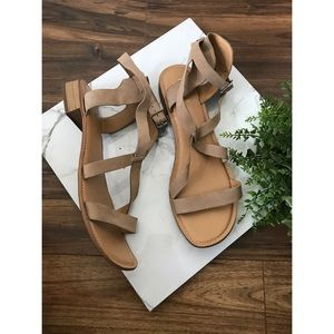 Franco Sarto Anisa Strappy Ankle Sandals